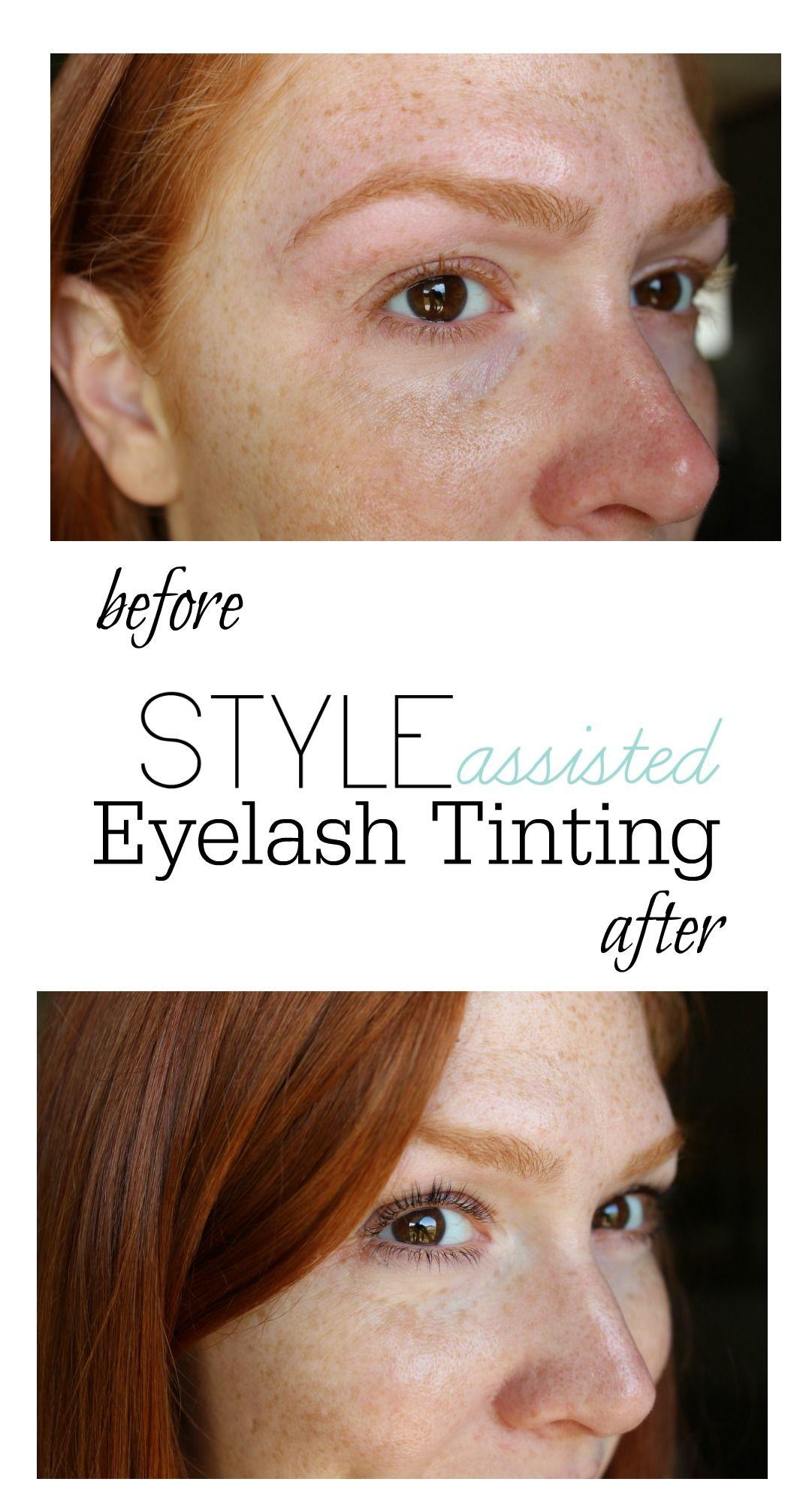 Eyelash Tinting | Hair | Eyelash tinting, Eyelashes y Pale ...