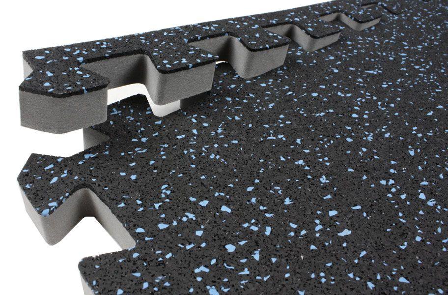"""3/4"""" Impact Rubber Tiles Rubber floor tiles, Foam floor"""
