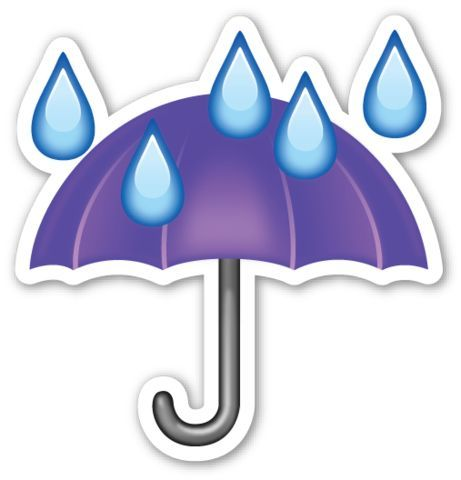 This Sticker Is The Large 2 Inch Version That Sells For 1 Each If You Are Looking For The Emoji Sticker Pack Which Inc Emoji Stickers Umbrella Emoji Faces