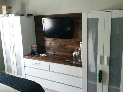 Image result for ikea pax wardrobe with tv and dresser