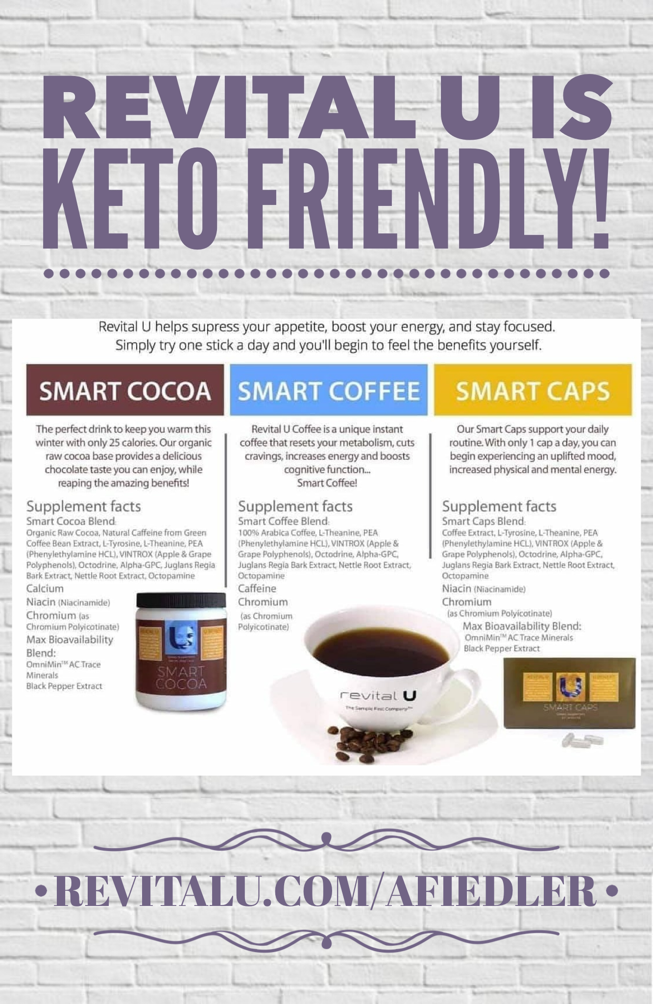Did You Know Revital U Is Keto Friendly Keto Winter Drinks Energy
