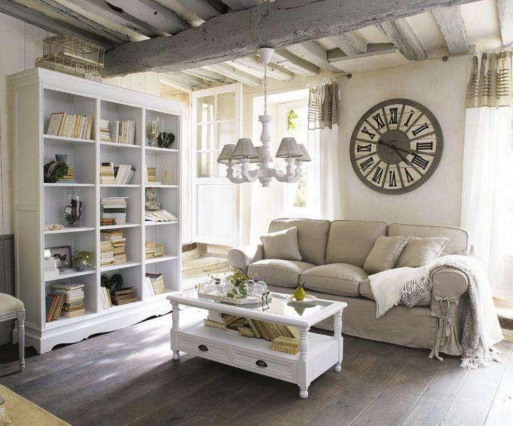 Besoin Dinspiration Pour Décorer Votre Salon De Façon Sympa Et Cosy - Canapé 3 places pour deco interieur maison bois
