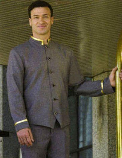 Doorman Concierge Jacket Men Hat Concierge Jackets