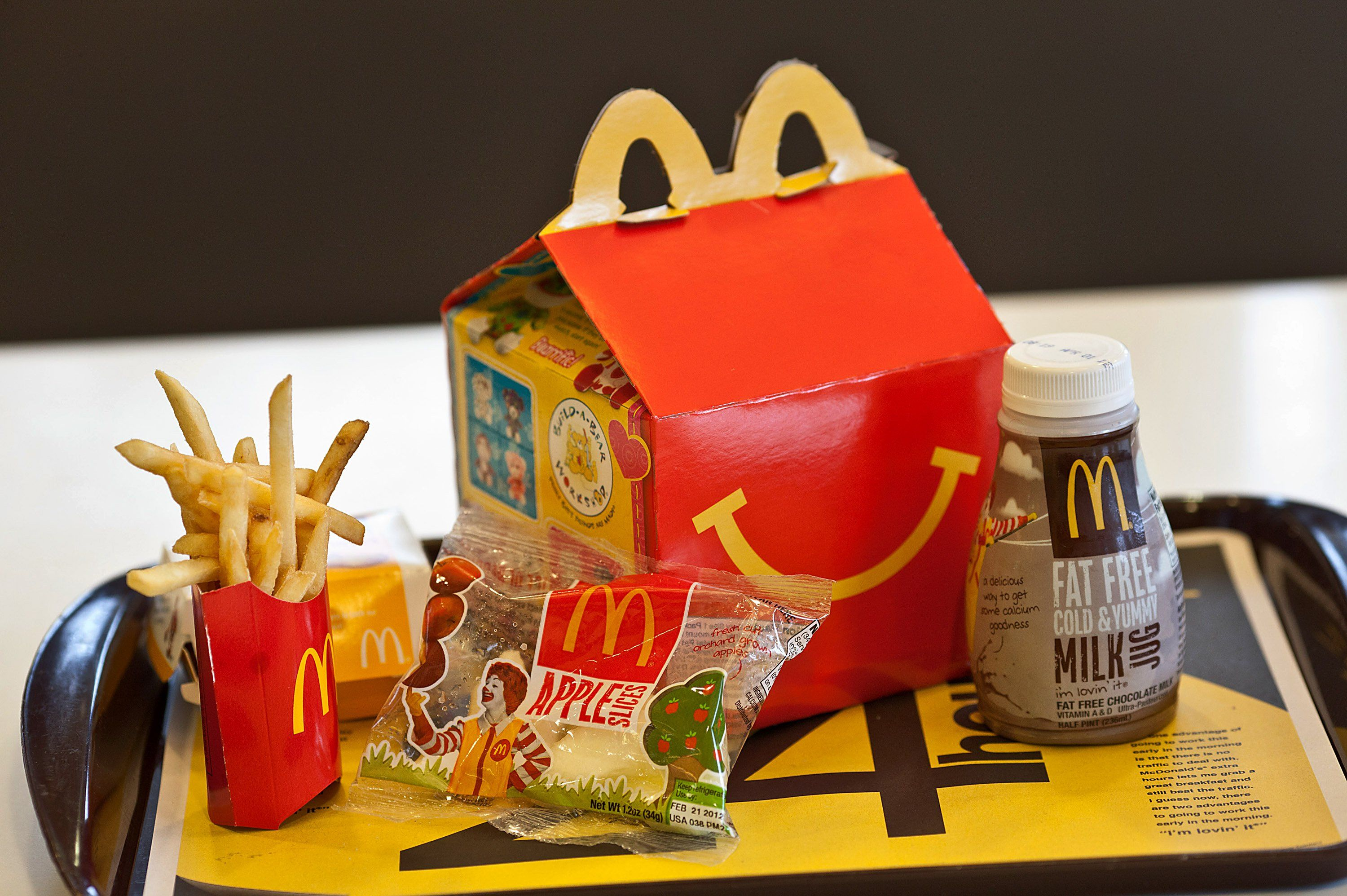 McDonald's Just Put the Happy Meal on a Diet Food, Food
