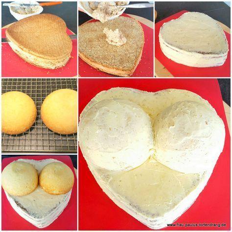 Brüste Torte