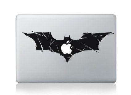 Macbook 13 inch decal sticker batman logo art for apple laptop amazon co