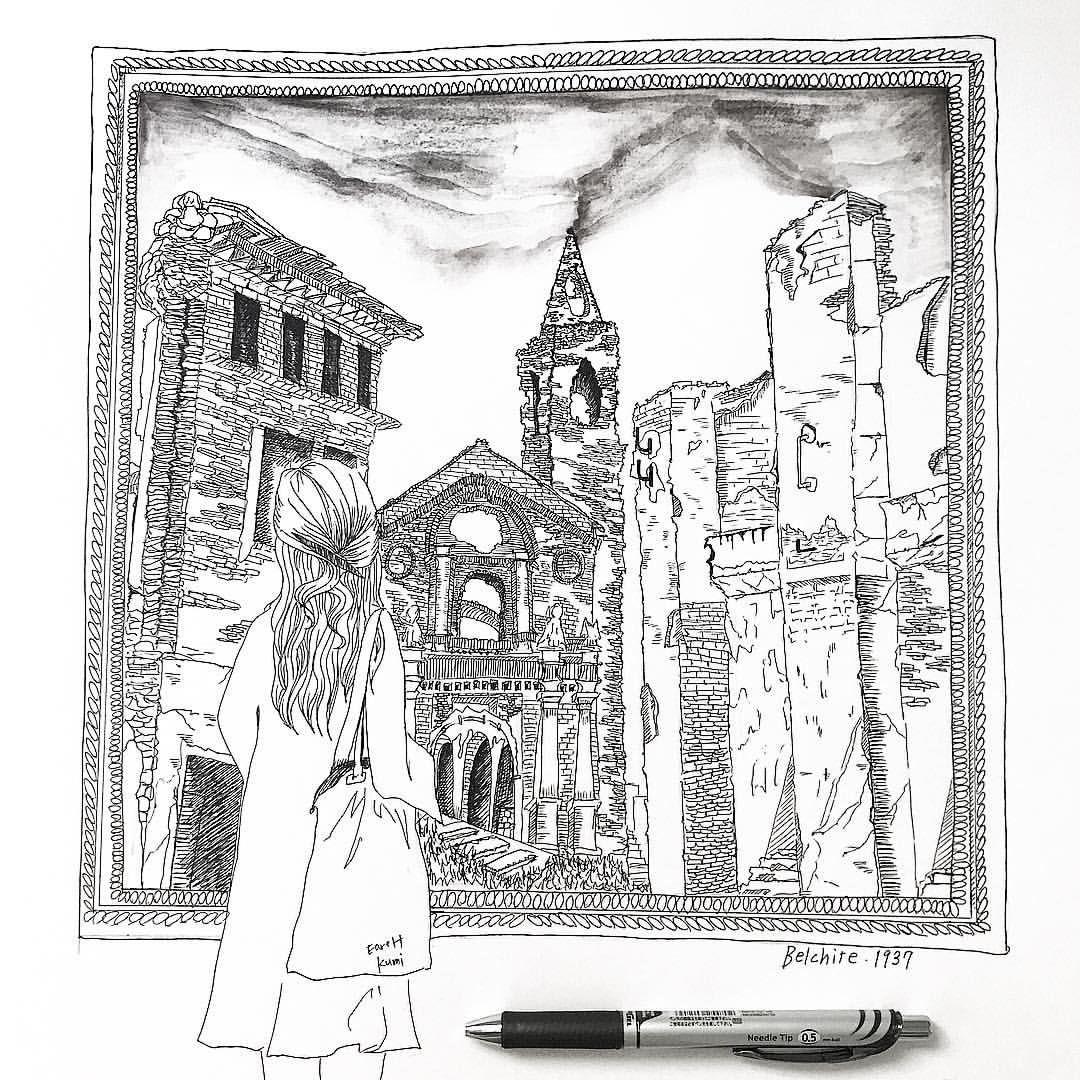 ART LIFEさんはInstagramを利用しています:「belchite.1937 スペインの ...
