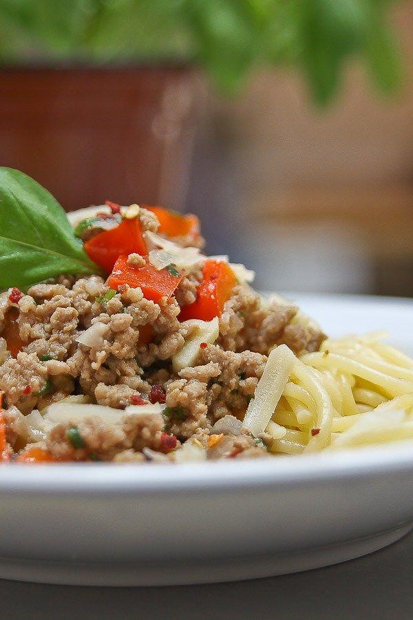 Thai-Bolognese Pasta, Curry and Tasty - italienische küche rezepte
