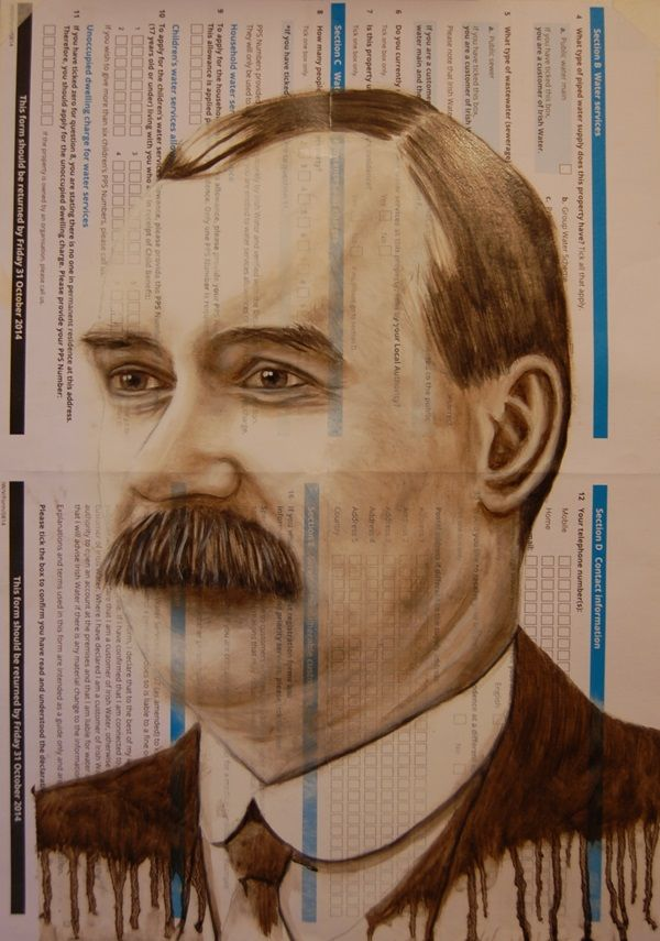 James Connolly Irish Water Protest