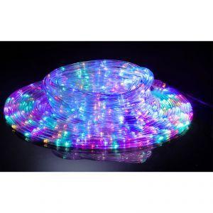 Cordon lumineux solaire 18 m Multicolore