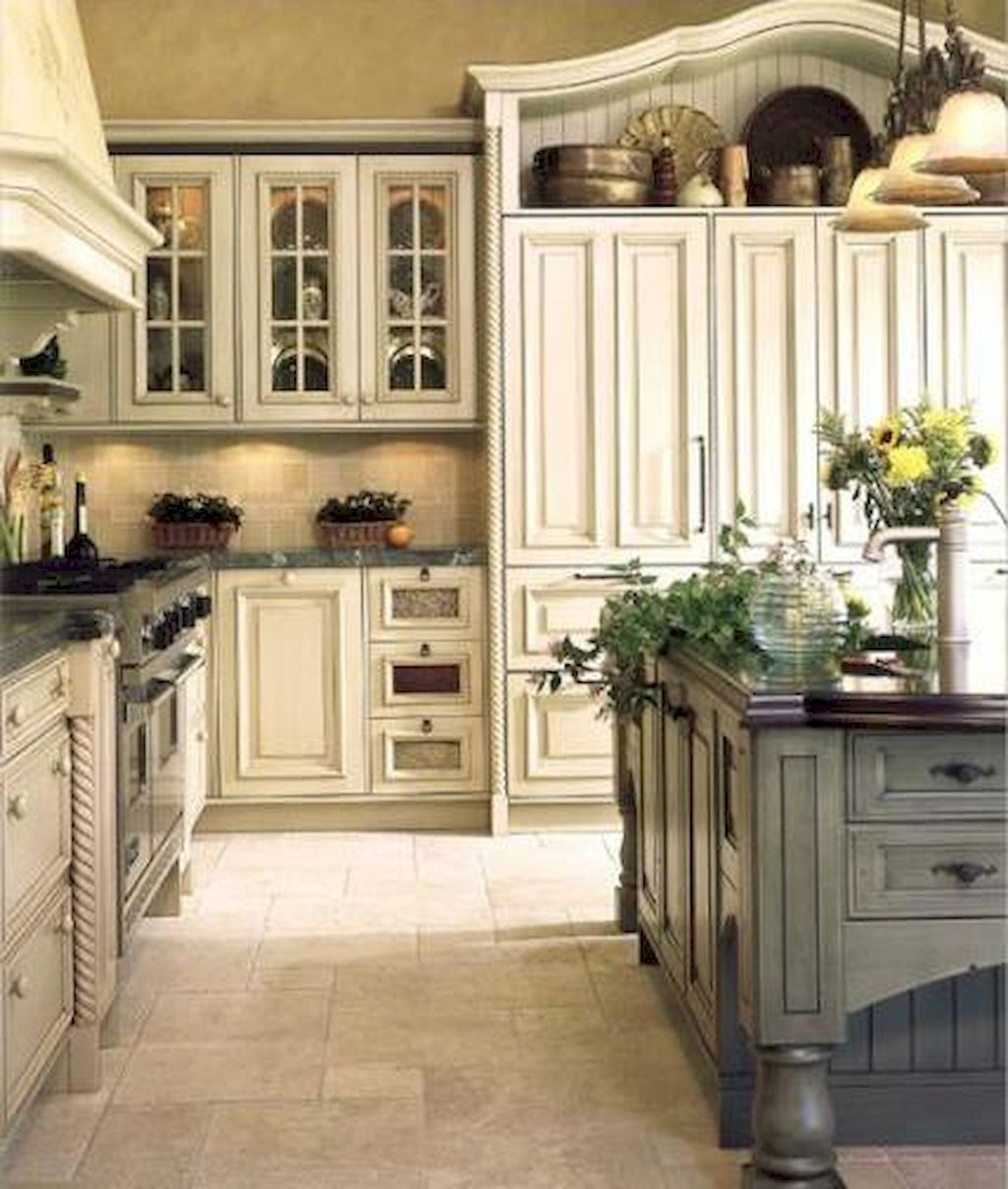 Incredible Kitchen Remodeling Ideas: Incredible French Country Kitchen Design Ideas (22