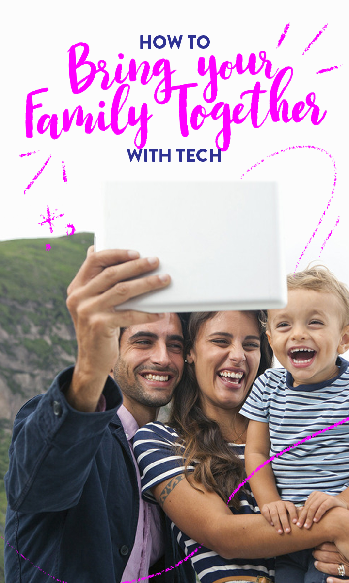 Here are a few more ways you can introduce technology into your family traditions, and bring your family together