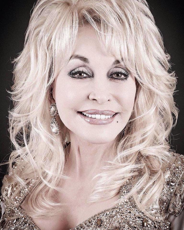 Beautiful | Dolly parton, Celebrities, Medium hair styles