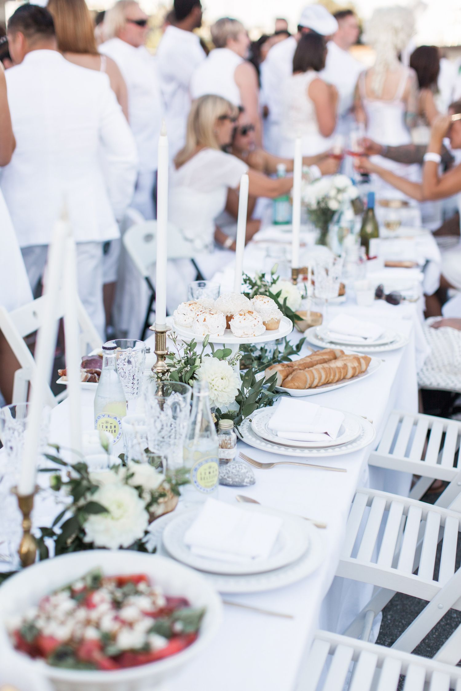Diner En Blanc #allwhiteclothes