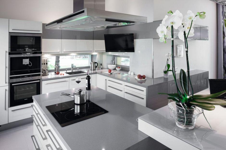 Szare Sciany W Kuchni Ciekawe Aranzacje Wnetrz Home Decor Kitchen Cabinets Kitchen
