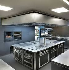 Luxury Open Commercial Kitchen Design
