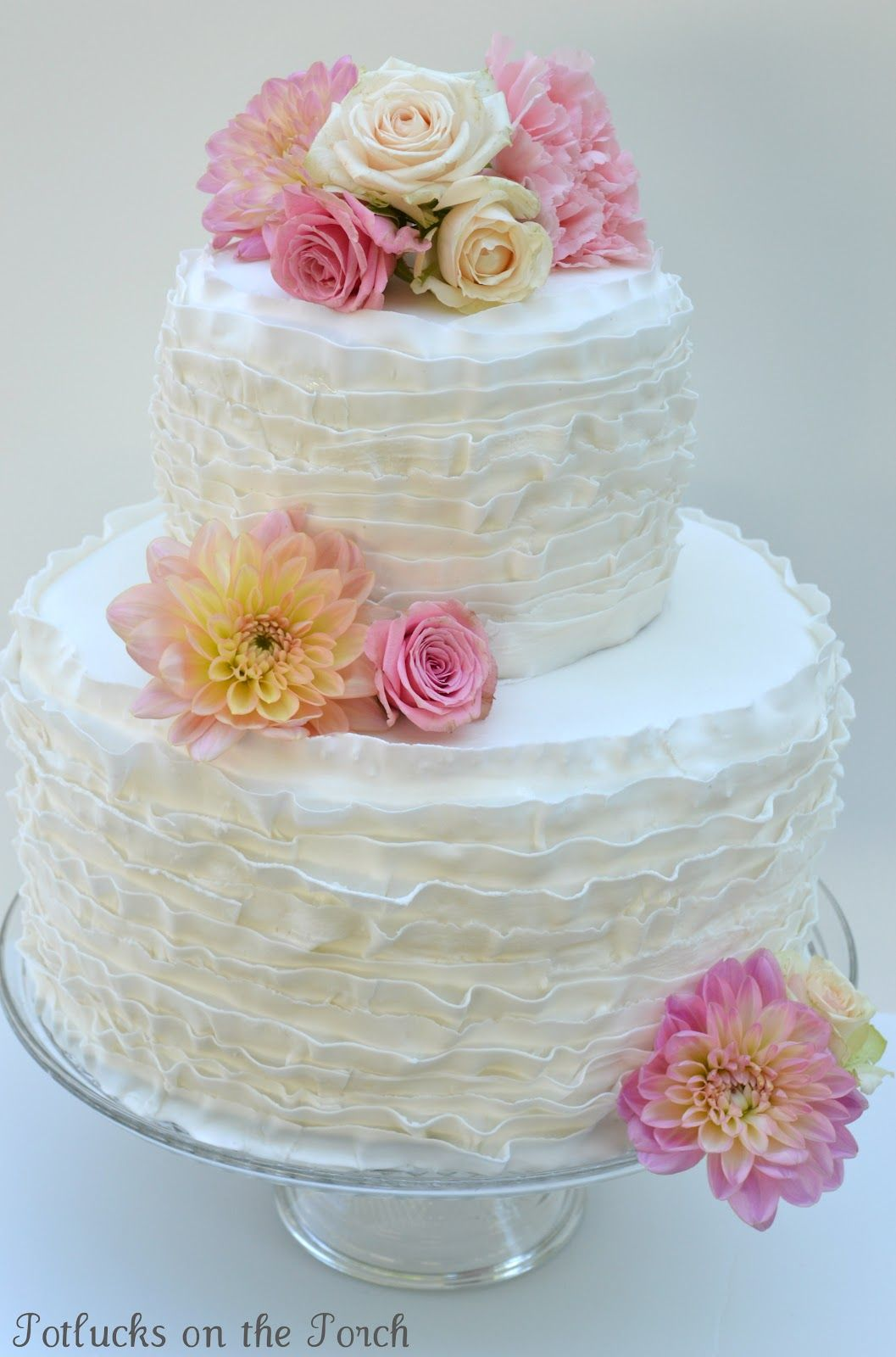 Walmart Wedding Cakes Uwofsku Walmart Wedding Cake Fondant Ruffles Luxury Wedding Cake