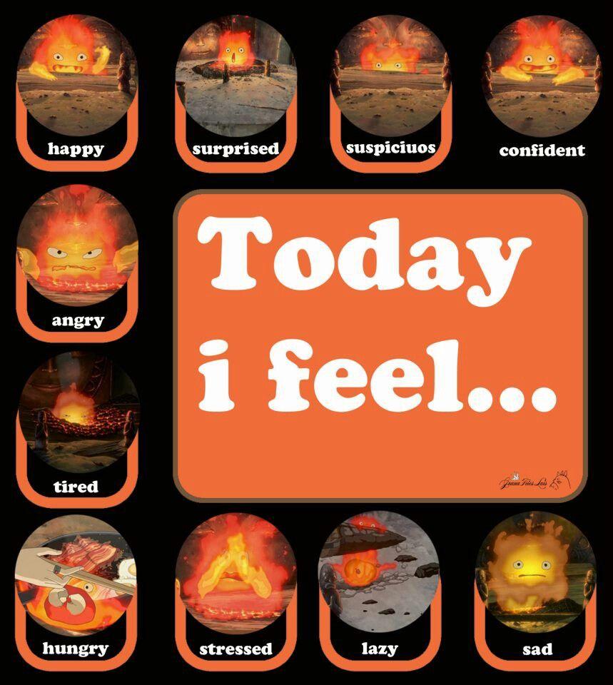 Calcifer- Today I Feel (Howl's Moving Castle)