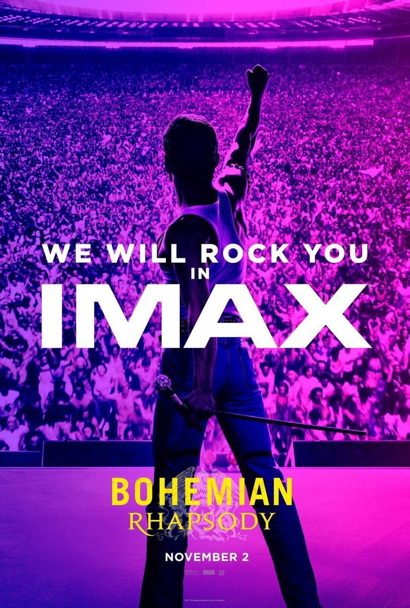 Bohemian Rhapsody Will Euch Mit Diesem Poster Ins Imax Locken I