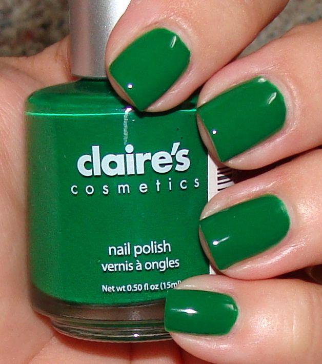greenfingernails | Claire\'s Kelly Green Nail Polish - $4.50 at ...