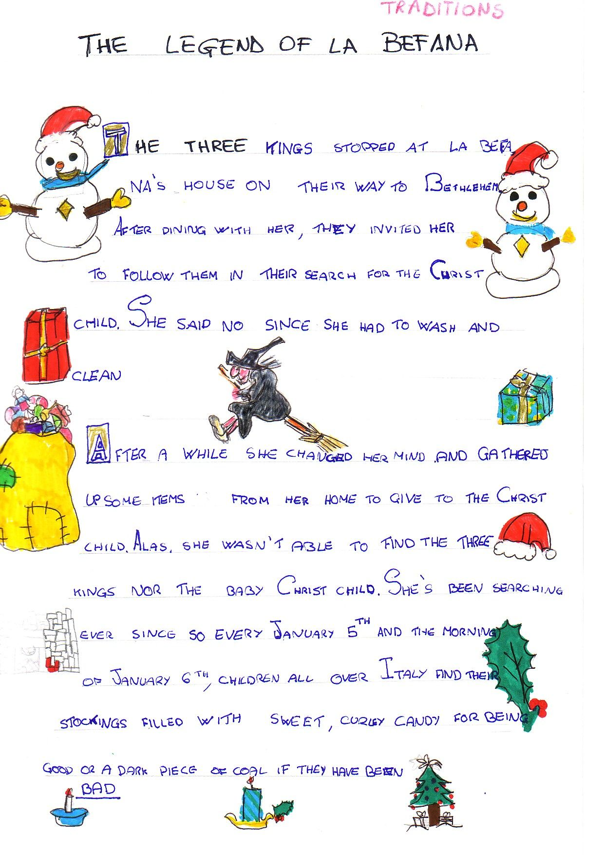 An Adorable Version Of The Story Of La Befana Of Course
