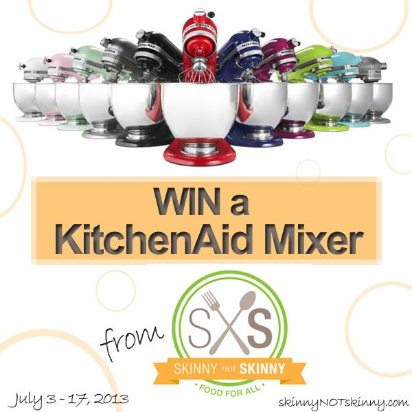 KitchenAid 5-Quart Giveaway from Skinny not Skinny