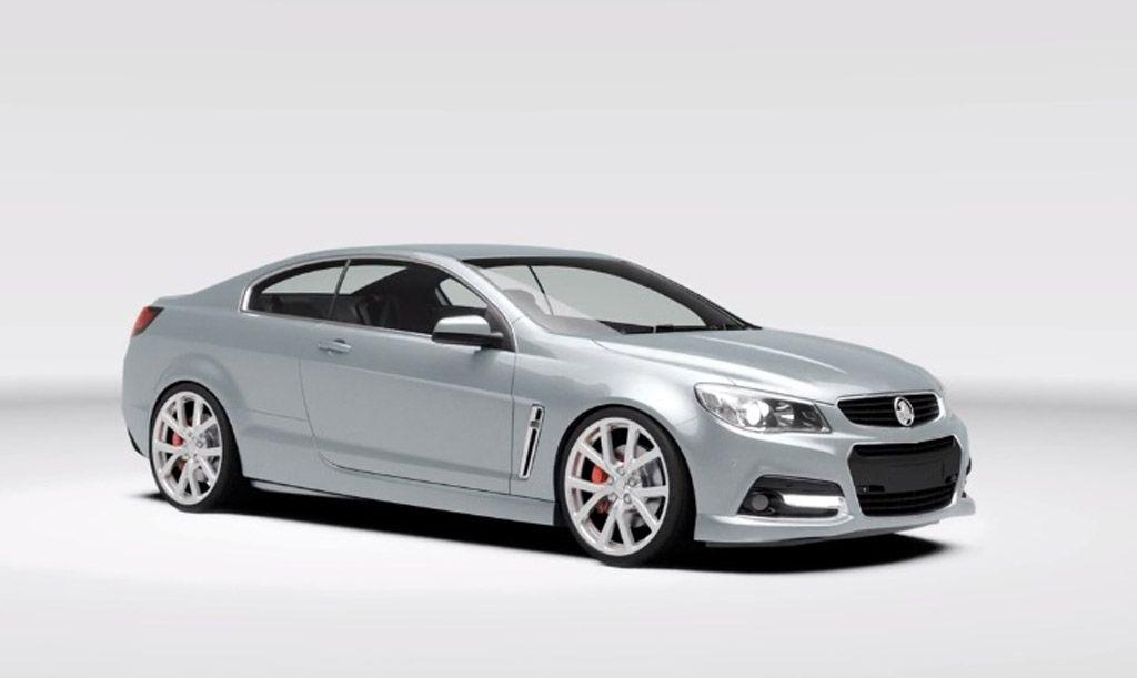 Chevrolet SS Coupe Envisaged Concept Cars Pinterest