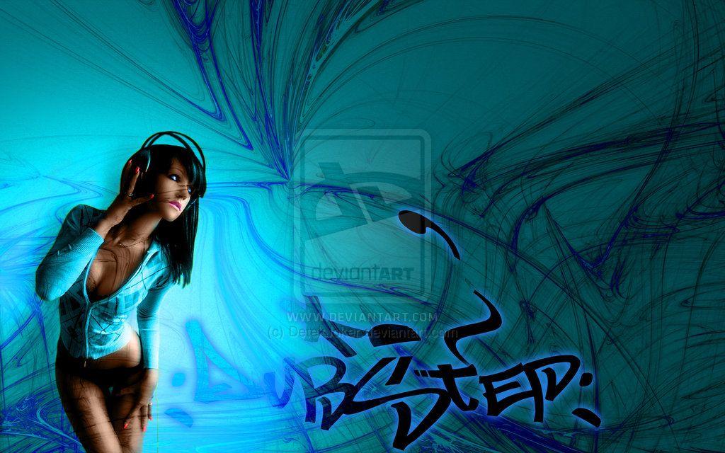 Headphone girl Dubstep by DetekJoker on DeviantArt | Music ...