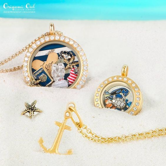 Origami Owl cruise locket. Anchor Core Momento. Fish locket. Click the pin to order on my Facebook page!