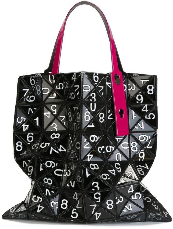 Inspirational Bao Bao Issey Miyake numbered modular tote bag Review - Review issey miyake