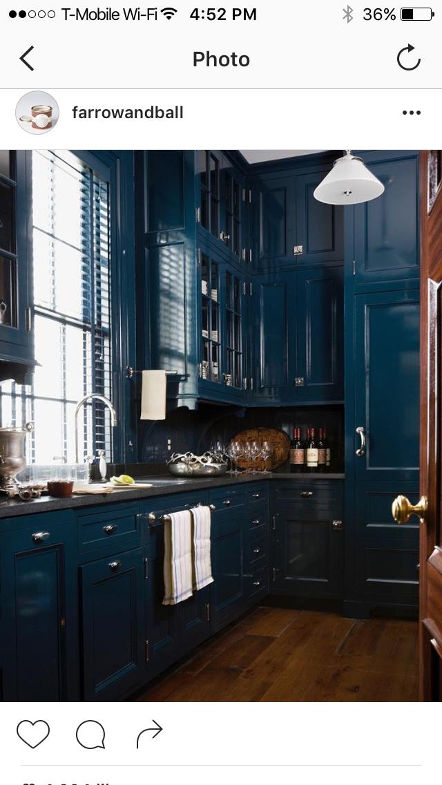 Love this color Hague Blue