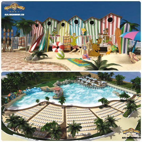 Parque Warner Beach De Madrid Información Entradas Y Horarios Parque Acuatico Parques Parque De Atracciones