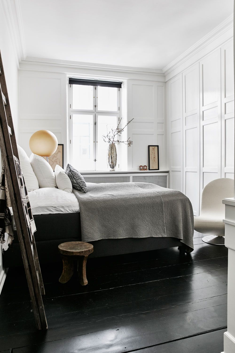 Fresh Stool at End Of Bed