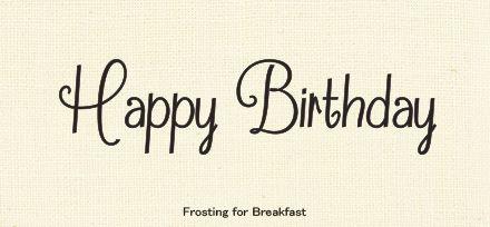 Happy Birthdayの文字に合う イイ感じな手書き欧文フォント 誕生日 イラスト 手書き 誕生日 文字 誕生日 カード 手書き