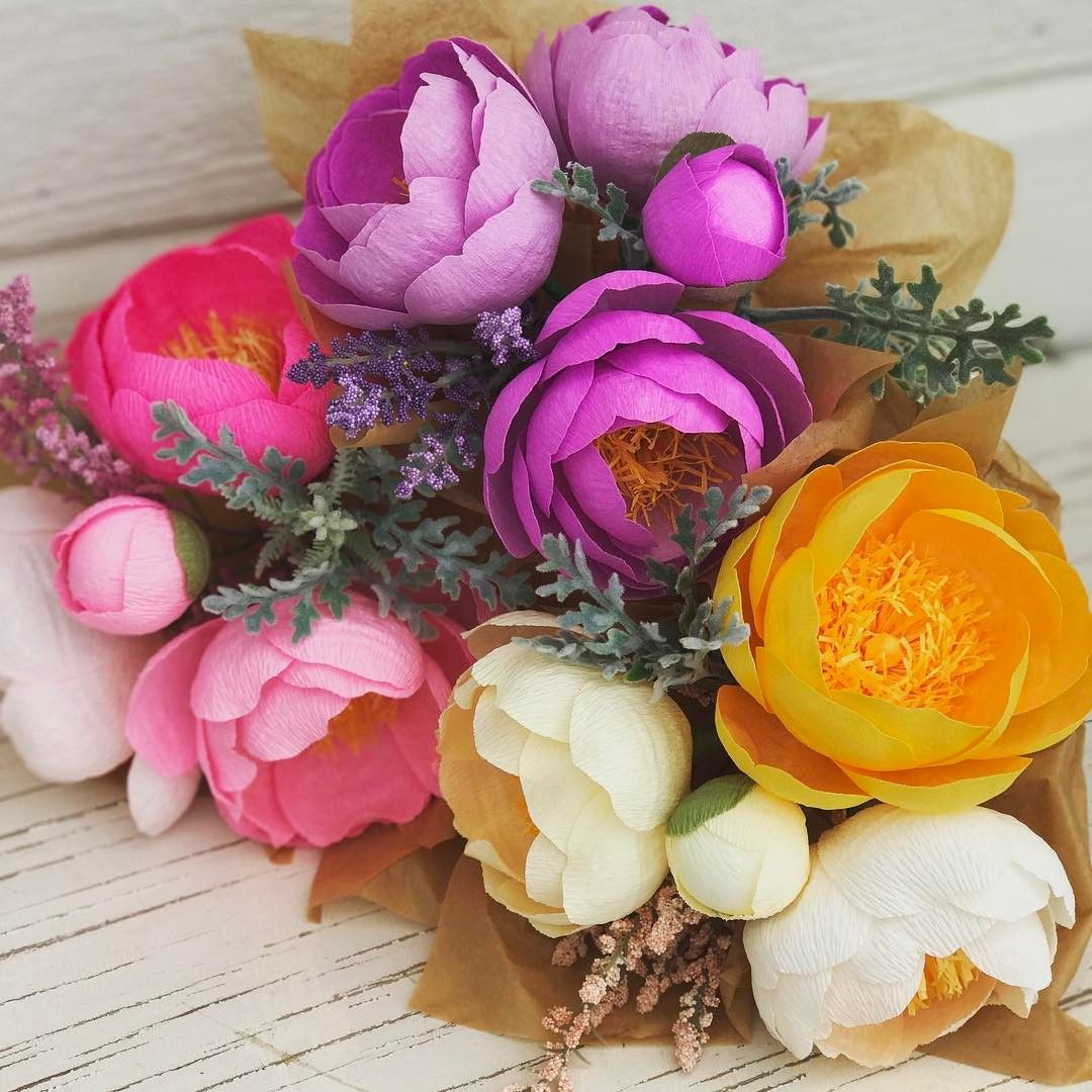Motherus Day Bunches Pink yellow or lavender   Paper magic