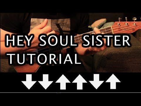 Train Hey Soul Sister UKULELE Tutorial HD Best Of Music Enchanting Hey Soul Sister Ukulele Strum Pattern