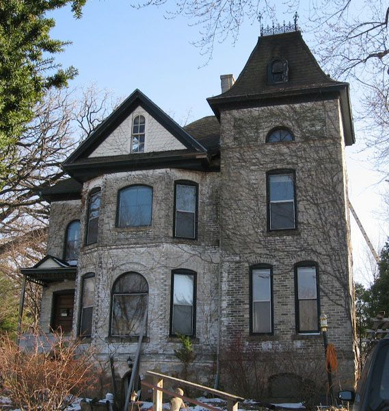 Haunted Places In Las Vegas 2014: Victorian Housing On Campus In Madison, Wisconsin