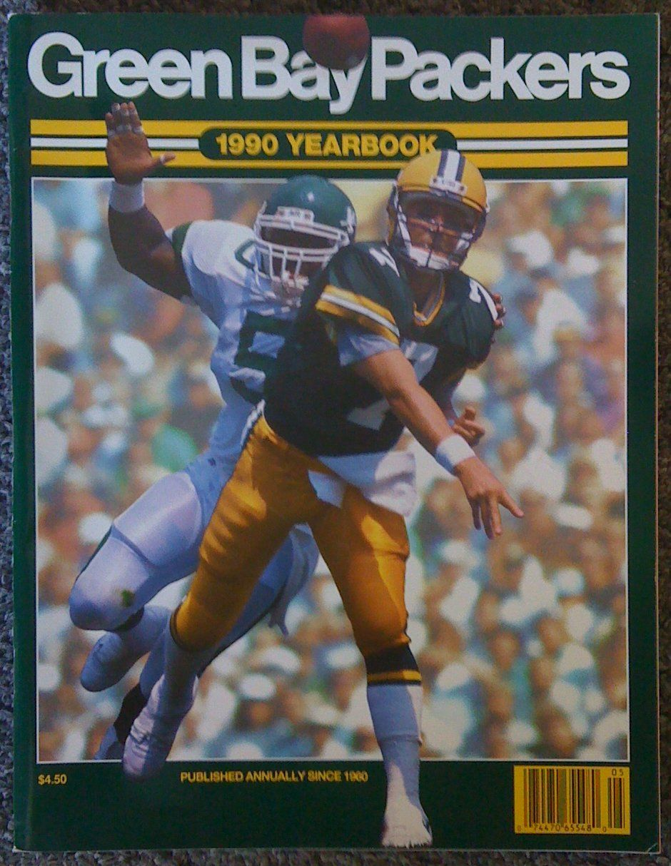 Basketball Books Magazines Publications 1990 Green Bay Packers Yearbook Don Majkowski On Cover Green Bay Packers Green Bay Green Bay Packers Vintage