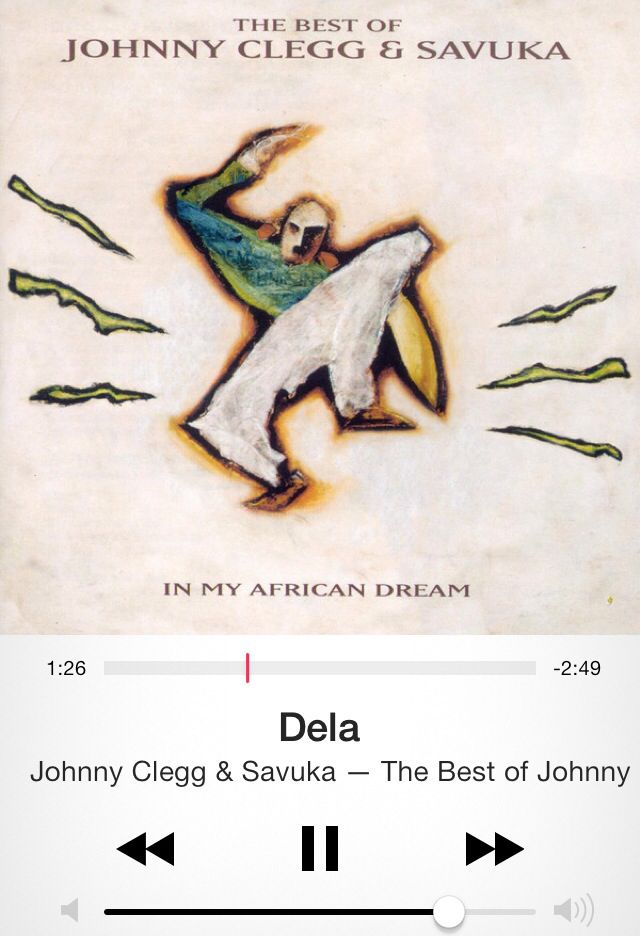 """Dela - Johnny Clegg """"George, George, George of the jungle... Watch out for that tree!"""""""