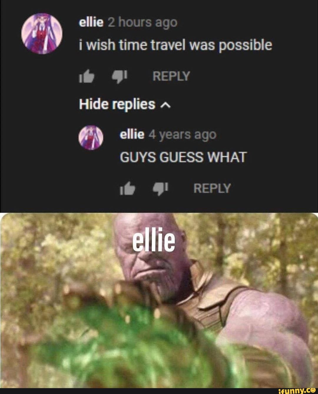 Time Travel Meme Arnold