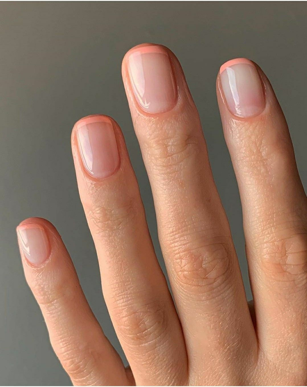Pin By Sarah Spicer On Beauty In 2020 Colored French Nails Manicure Gel Nails