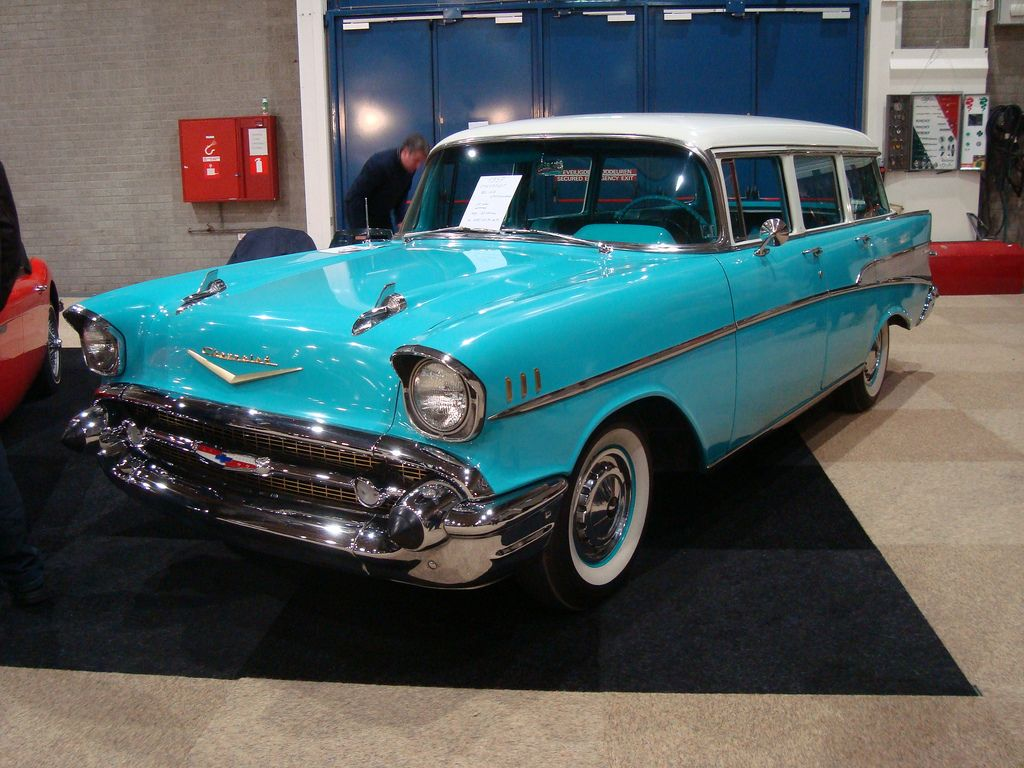 1957 Chevrolet Bel Air Townsman Station Wagon Cool Old Cars