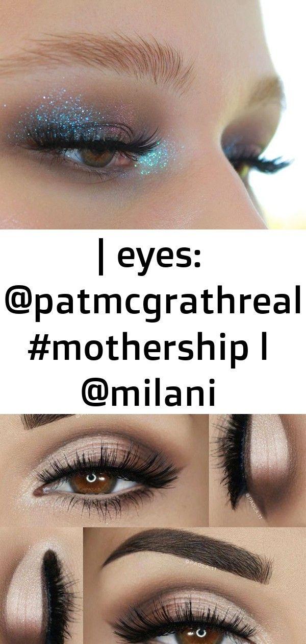 | eyes: @patmcgrathreal #mothership l @milani eyeshadowprimer, @narsissist soft matte concealer, @ny #glittereyeliner