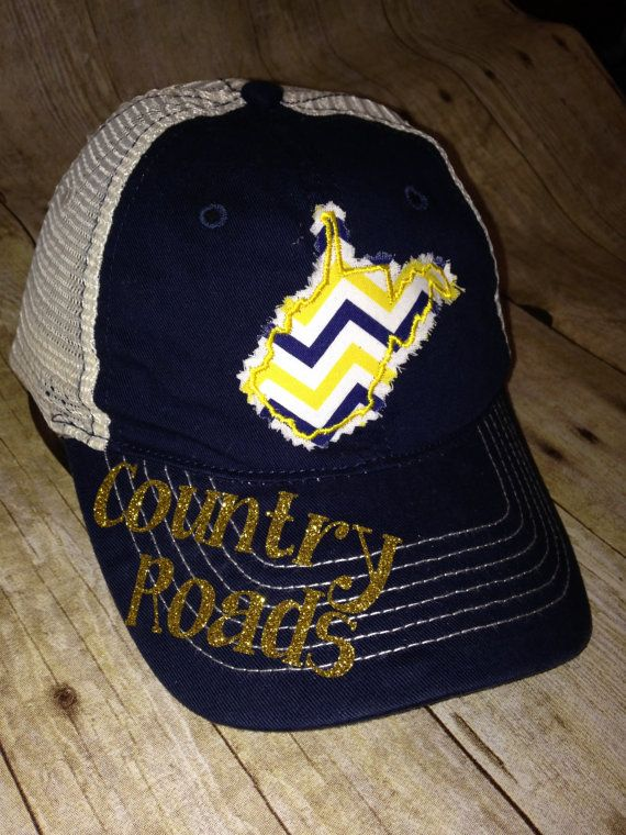 Prime West Virginia Country Roads Bling Trucker By Interior Design Ideas Philsoteloinfo