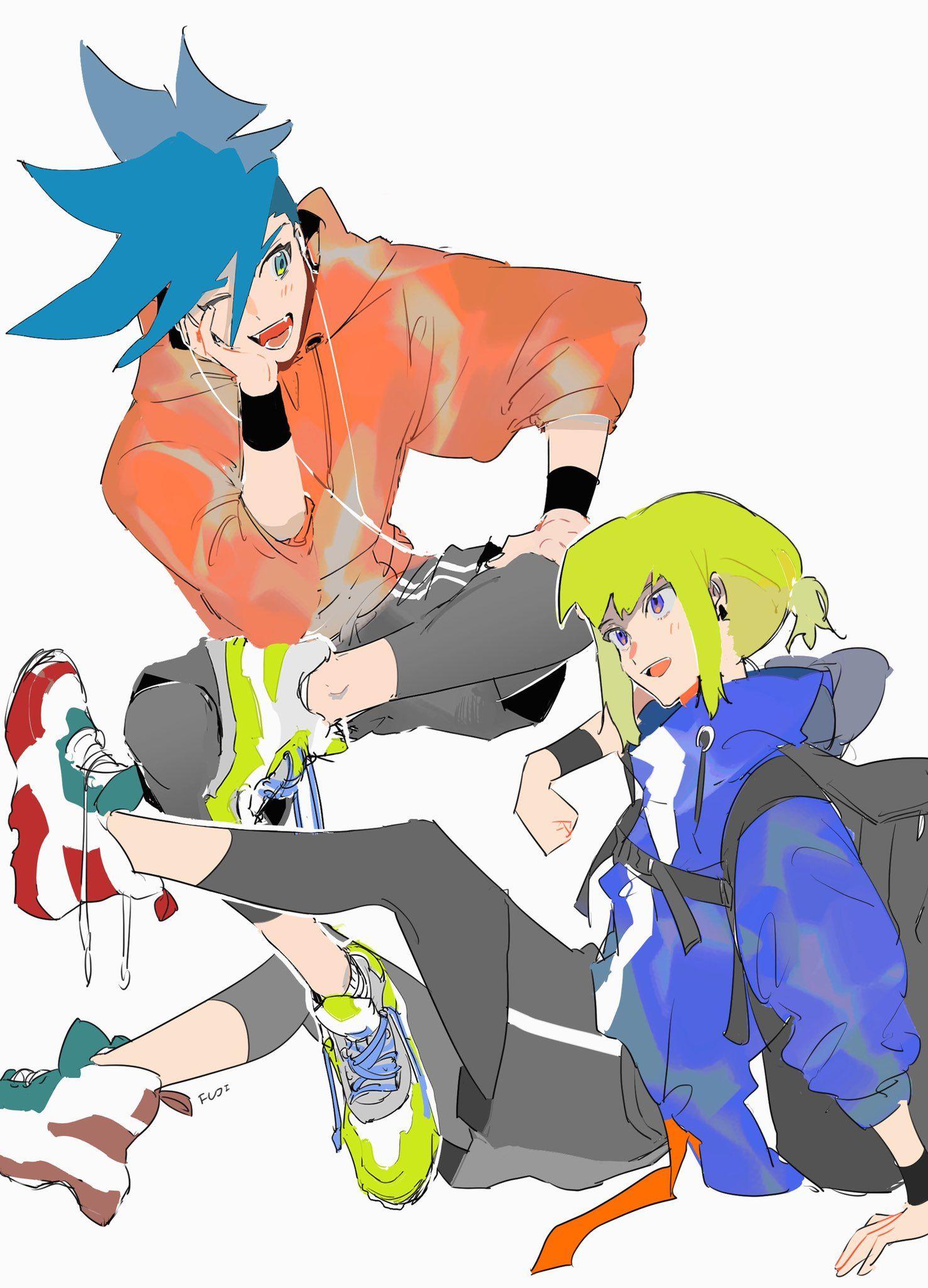 FUJI🗻 on Pokemon trainer