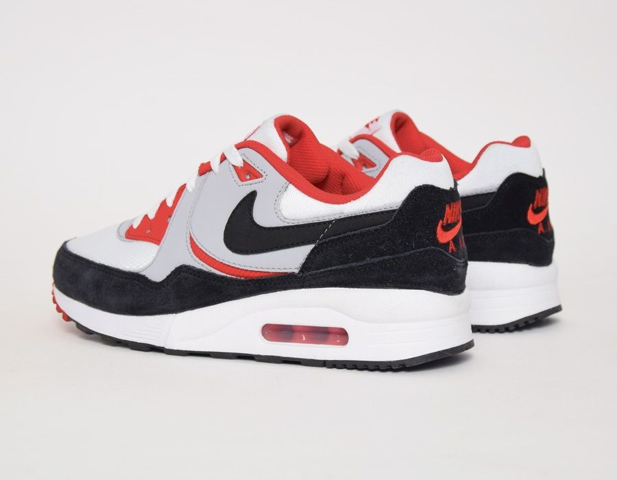san francisco ea10a 0f9ac  Nike Air Max Light GS - Grey Red  sneakers