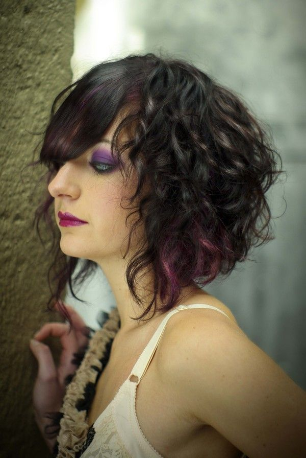 Asymmetrical Bob Curly Hair 35 Amazingly Cute Hairstyles For Short