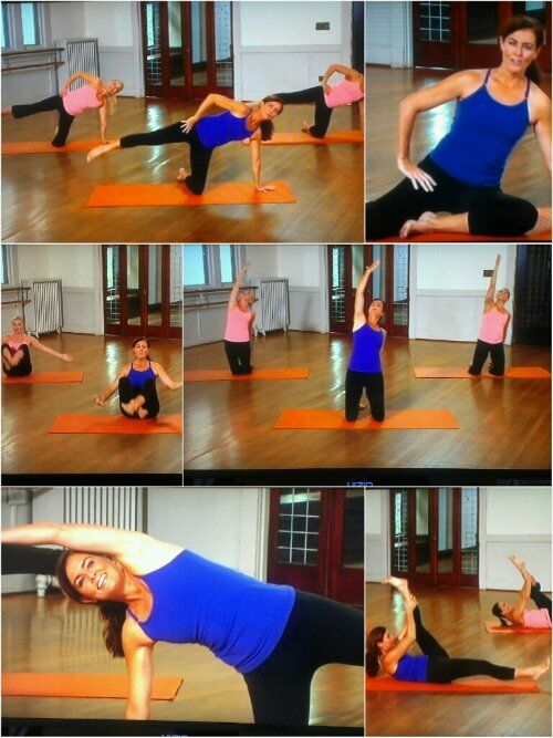 DVD Review: Fusion Floor Workout with Ellen Barrett pilates, yoga, barre, flexibility