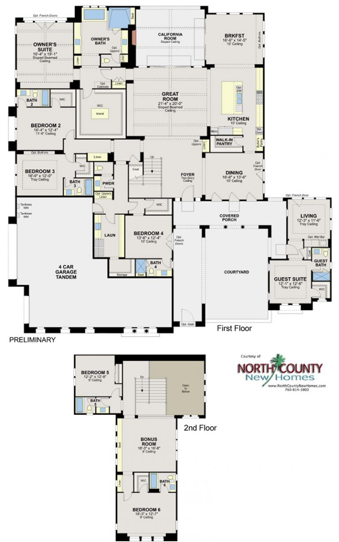 Artesian Estates Floor Plans