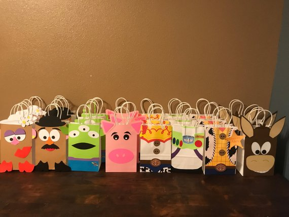 Toy Story Goodie Bags Loot Candy Gift Party Favors